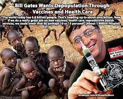 Bill Gates Meme - chambers bill gates wants to depopulate the world