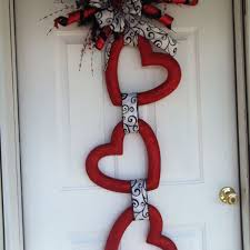 valentines door decorations 30 beautiful diy crafts for valentines day and design