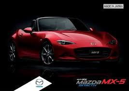 mazda made in this is your 2016 mazda mx 5 brochure carguide ph philippine