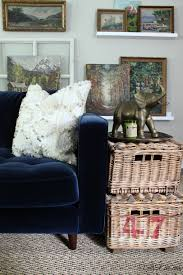 blue is a neutral new blue sofa kelly elko