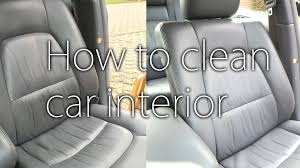 car seat how to clean seats in car best cloth seat cleaning