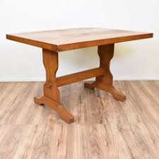 Metal Base For Trestle Table Solid Wood Dining Table Tops by Mid Century Modern Metal Base Dining Table Kitchen Tables An