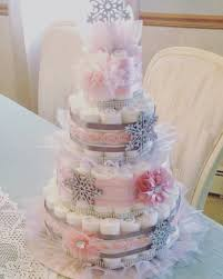 one of my favorites pastel pink and silver diaper cake baby it u0027s