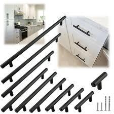 modern stainless steel kitchen cabinet pulls matte black modern cabinet handles pulls kitchen drawer stainless steel hardware