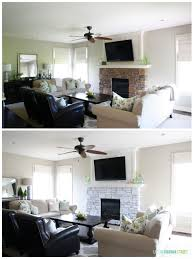 simplicity home decor simplicity white washed stone fireplace guest post country diy www