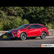 lexus india mumbai the hybrid suv comes with 20 inch alloy wheels and a pliant ride