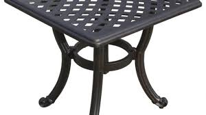 Metal Patio Side Table Patio Side Table Amazing Outdoor Tables The Home Depot In 7