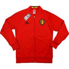 Football Bench Jackets 2016 17 Belgium Adidas Anthem Jacket Bnib Classic Retro