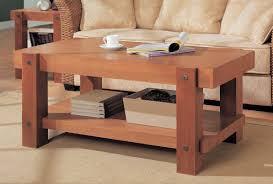 Rustic Livingroom Furniture Furniture Make Your Lovable Own Reclaimed Wood Rustic Coffee