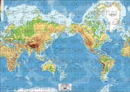 Physical Map Of East Asia by Geoatlas World Maps And Globe World Map Asia Map City