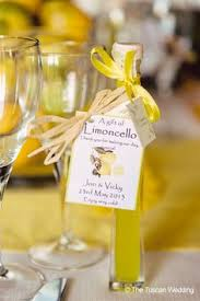 italian wedding favors personalized limoncello is the italian wedding favor for a