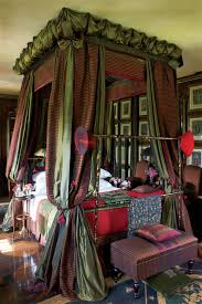 bedroom mystical rustic bedroom features tall exposed bric wall