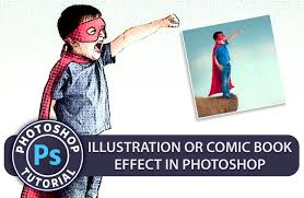 illustration or comic book effect in photoshop eric renno