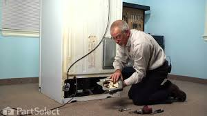 refrigerator condenser fan condenser fan motor replacement ge refrigerator appliance video