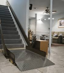Platform Stairs Design with Butler Mobility Incline Platform Wheelchair Lift