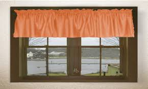 windows orange valances for windows decorating bargain home decor