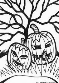 scary halloween coloring pictures coloring pages kids