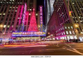 radio city christmas lights stock photos u0026 radio city christmas