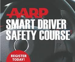senior driving class april 6 aarp smart driver class senior center