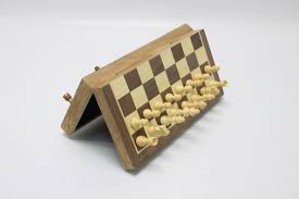 game set portable magnetic chess checkers set
