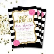 black and white baby shower invitations u2013 gangcraft net
