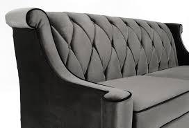 Diamond Tufted Sofa Armen Living Barrister Sofa