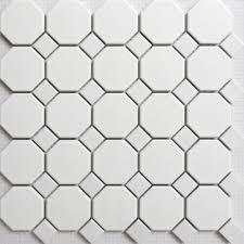 Bathroom Floor Mosaic Tile - bathroom tiles white mosaic interior design