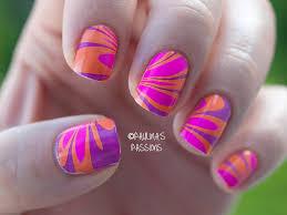 youtube nail designs water marbling nail polish designs