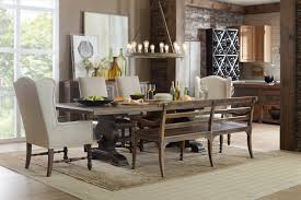 hooker furniture dining room hill country helotes dining bench