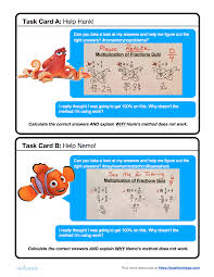 Multiplying Fractions By Whole Numbers Worksheets 5 Nf 4 Multiplication With Fractions Math Number U0026 Operations