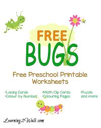 printables free insect worksheets ronleyba worksheets printables