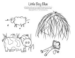 little boy blue coloring page funycoloring