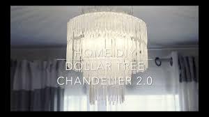 Gun Chandelier by Dollar Tree Chandelier 2 0 Youtube