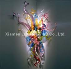 custom l shades online modern custom made decorative chihuly style colorful hand blown