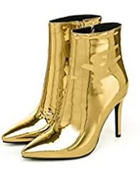 womens flat black boots size 12 amazon com gold boots shoes clothing shoes jewelry