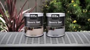 Patio Paint Concrete by How To Apply Behr Premium Granite Grip Youtube