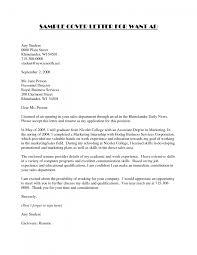 Sample Cover Letter For Resume Cover Letter Cover Letter Example For Students Cover Letter