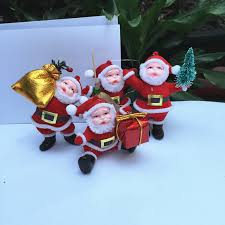 Santa Claus Dolls Handmade - shop 6pcs lot handmade santa claus dolls