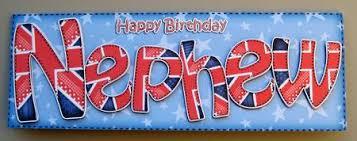 uk flag birthday nephew large dl quick card 3d decoupage