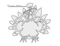 turkey stencil 01 supplies stenciling