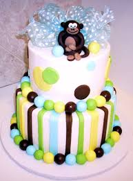monkey cakes u2013 decoration ideas little birthday cakes