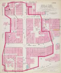 Map Of Toronto And New York by Goad U0027s Atlas Of The City Of Toronto Fire Insurance Maps From The