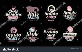 happy halloween background for your hair salon beauty shop salon cosmetic makeup logo stock vector 555119644
