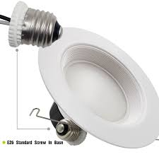 Dimmable Led Light Bulbs For Recessed Lighting by 18w 5 6 Inch Wet Location Led Recessed Lighting Fixture Torchstar