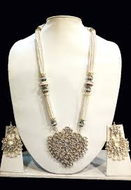pearls necklace set jewellery images Pearl necklace set jjr16420 jpg