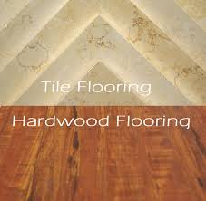 which flooring is right for your home hardwood or tile