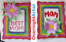 framed greeting cards s day gift ideas easy flower 3d pop up frame