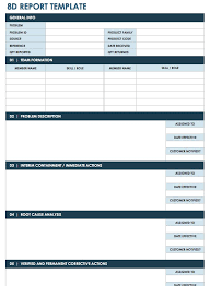 improvement report template free lean six sigma templates smartsheet