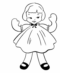 coloring baby doll alltoys