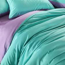 Green Duvet Cover King Size Aliexpress Com Buy Luxury Purple Turquoise Bedding Set King Size
